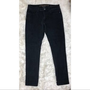 9457eb7e American Eagle Outfitters Jeans - AEO | Men's Black Extreme Flex 4 Slim  Jeans 31x32